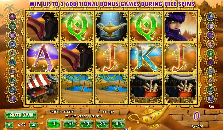 Aladins Legacy