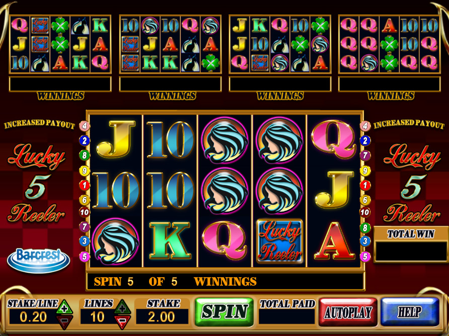 Lucky 5 Reeler Slots - Play Penny Slot Machines Online