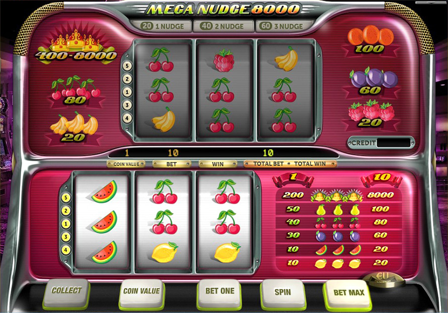 Play Mega Nudge 8000 Slots Online - PlayMillion Slots