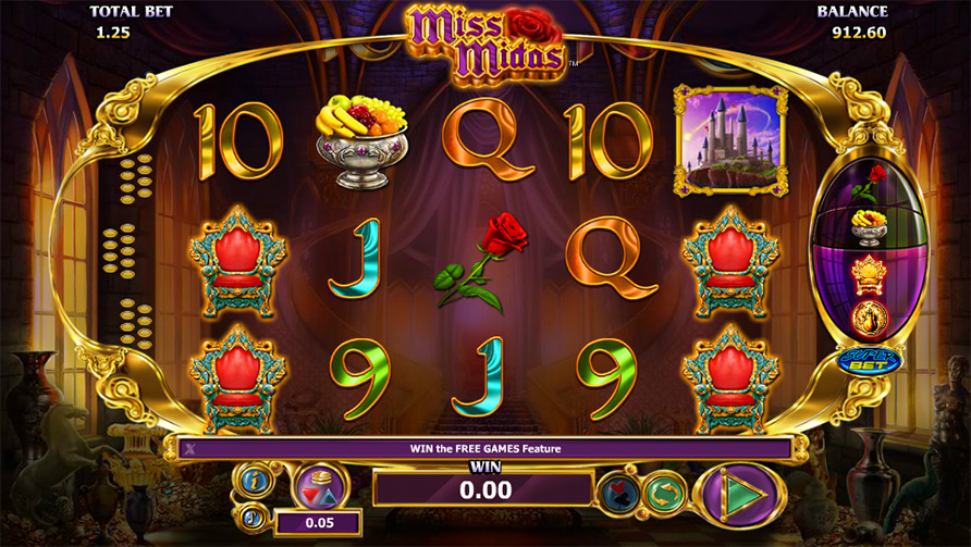 Miss Midas Scratch Card - Play Online for Free Now