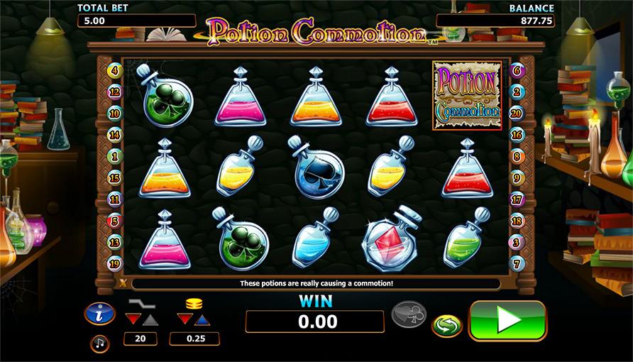 Potion Commotion online slot gennemgang - spil online gratis