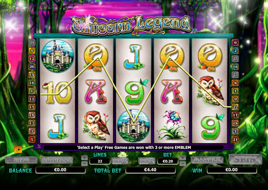 Unicorn Legend Slots